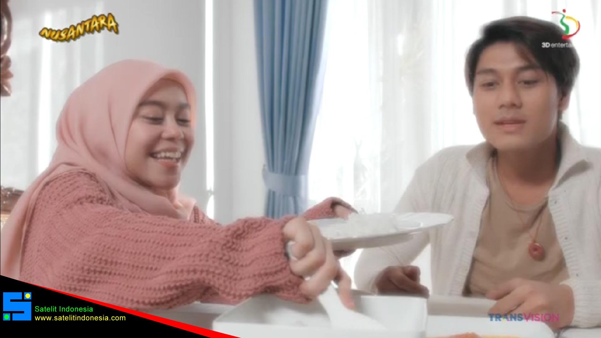 Frekuensi siaran Nusantara di satelit Telkom 4 Terbaru