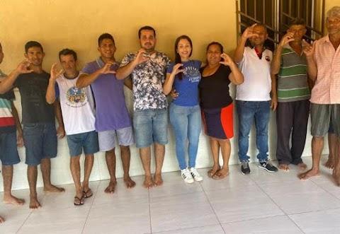 Final de semana movimentado para dois pré-candidatos a prefeito de Santo Antônio dos Lopes