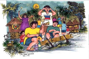 MGA TRADISYON AT PANINIWALA NG MGA PILIPINO