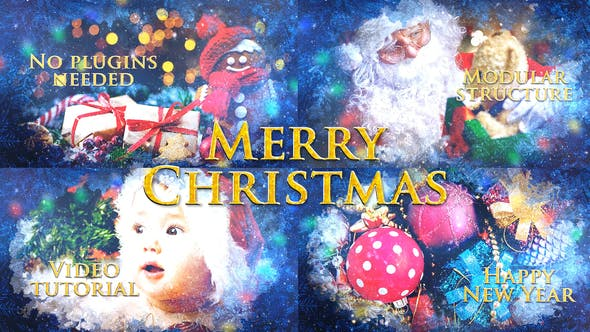 Videohive Merry Christmas Slideshow 25032993