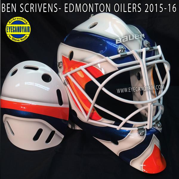 I Love Goalies!: Ben Scrivens 2015-16 Mask