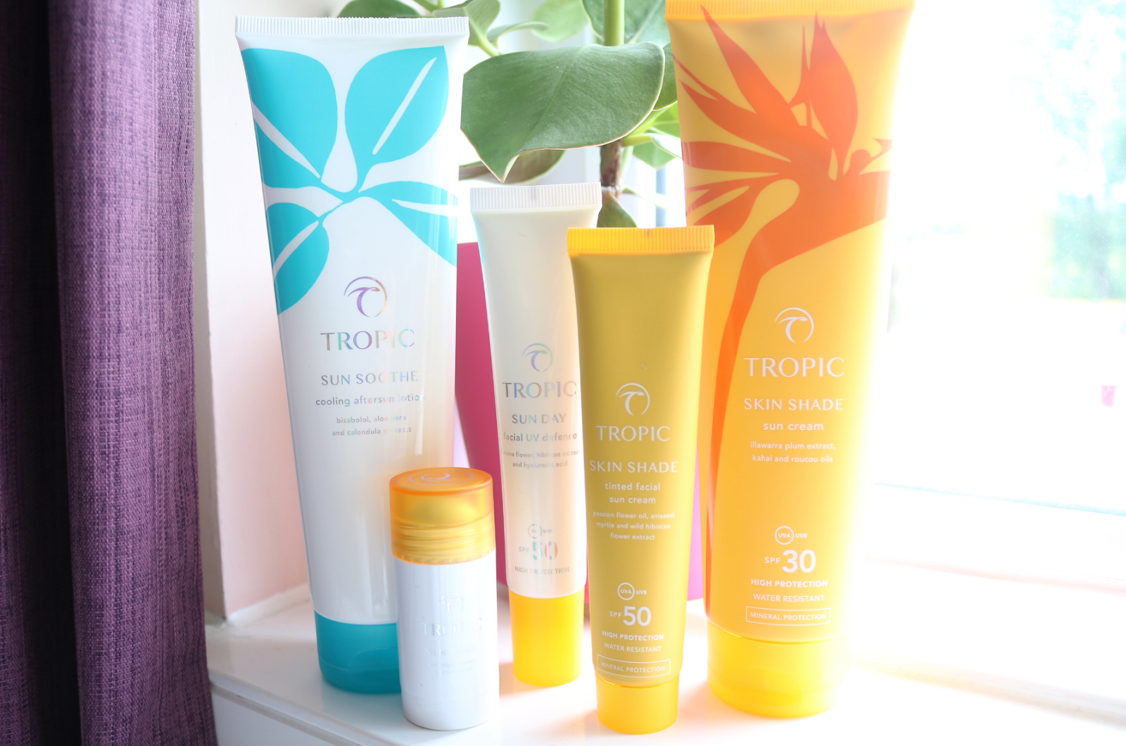 Tropic Suncare range - Skin Shade Sun Cream, Sun Day Facial UV Defence, Sun Stick & Sun Soothe Aftersun review