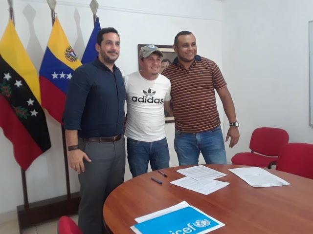 FRONTERA: Firman convenio con Unicef Latinoamérica alcaldías fronterizas de Bolívar y Pedro María Ureña.