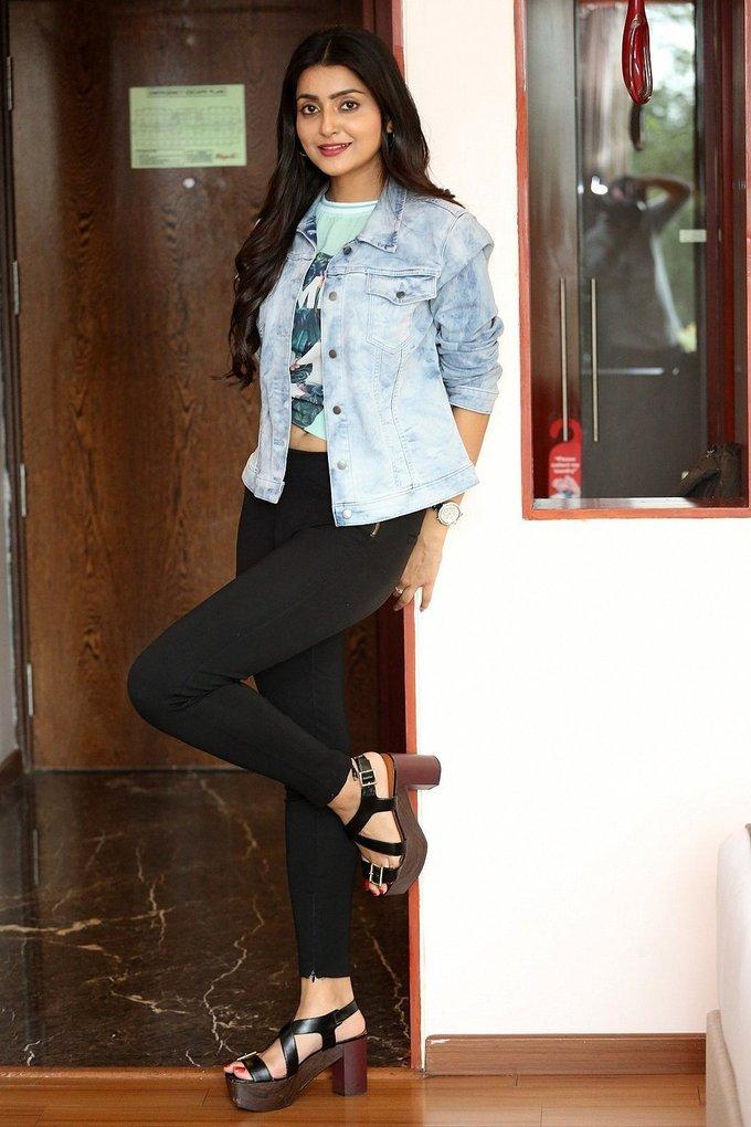 Avantika Mishra Photos At Vaisakham Movie Triple Platinum Disc Function
