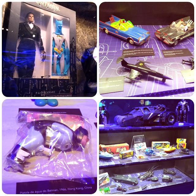 Brinquedos colecionáveis do Batman