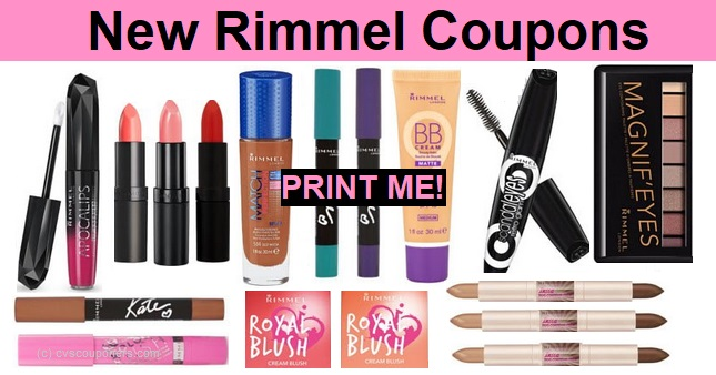 Rimmel Coupons