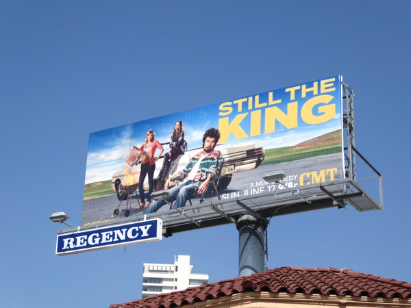 Still the King series premiere billboard
