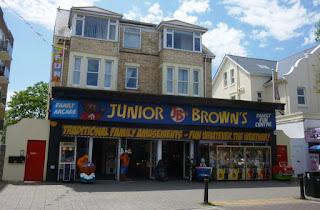 Junior Brown's amusements in Paignton, Devon