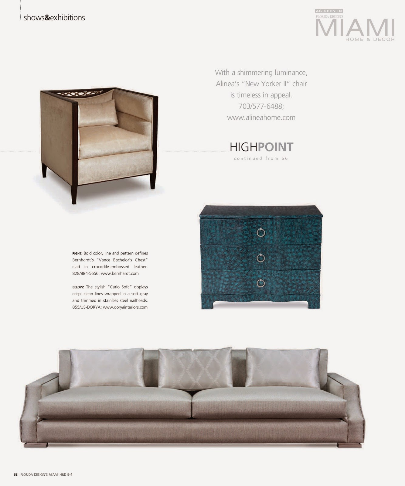 Dorya Interiors: Miami Home & Decor Features The Best Of