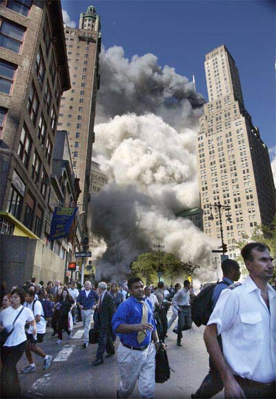 World Visits: World Trade Center Attack 9/11
