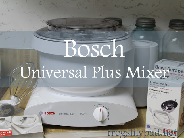 A look at the Bosch Universal Plus Mixer from a home baker. The Bosch Universal Plus Mixer is a nice tool for the home baker.