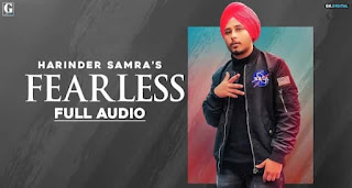 फीयरलेस Fearless Lyrics in Hindi | Harinder Samra