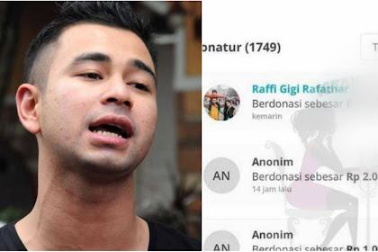 Nominal Sumbangan Raffi Ahmad dan Nagita Slavina untuk Korban Bencana Bikin Heboh, Diam-Diam dan Tak Diketahui Banyak Orang