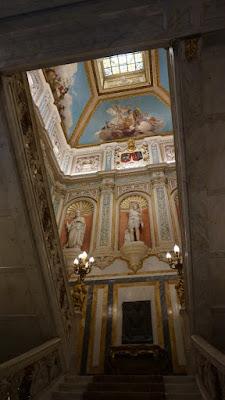 Escalera del Palacio de Santoña