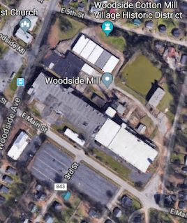Easley revitalization through its mills