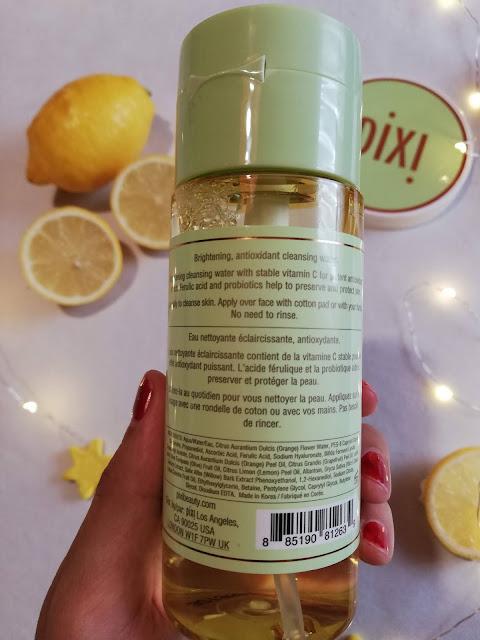 pixi beauty, pixi by petra, juice cleanser, skidanje šminke, nečistoće, impurities, face, lice, makeup, remove, pump