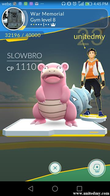 War Memorial Pokemon Go Gym