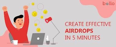 Create Airdrops on Bollojob