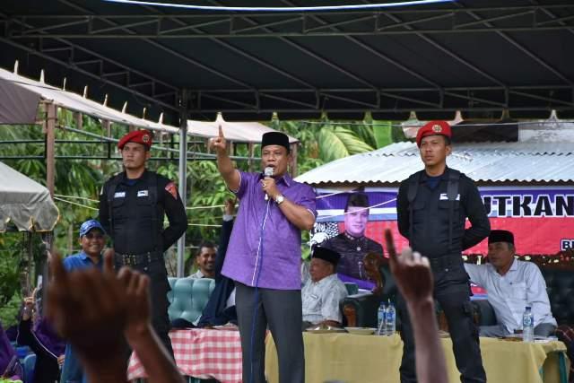 Cabub Bireuen  H Ruslan M Daud Kukuhkan Tim Pemenangan Kecamatan Peusangan Selatan