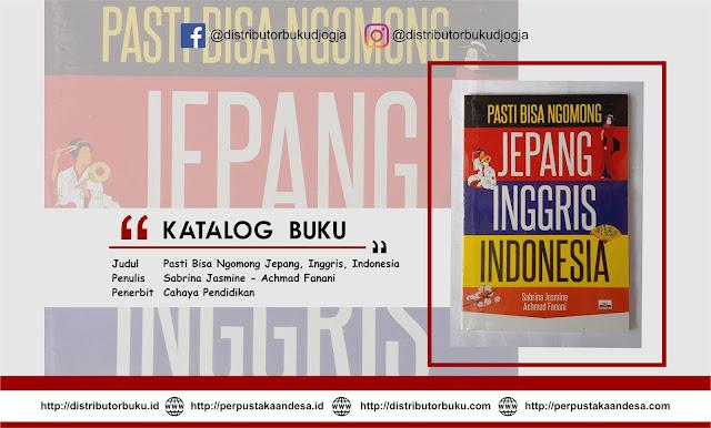 Pasti Bisa Ngomong Jepang, Inggris, Indonesia