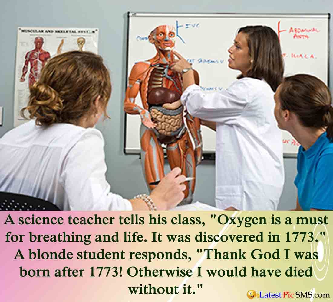 Science Teacher Joke