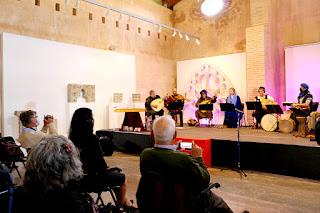 Concert Menestrils Mara Aranda CIMM Centre Internacional de Música Medieval de la Valldigna