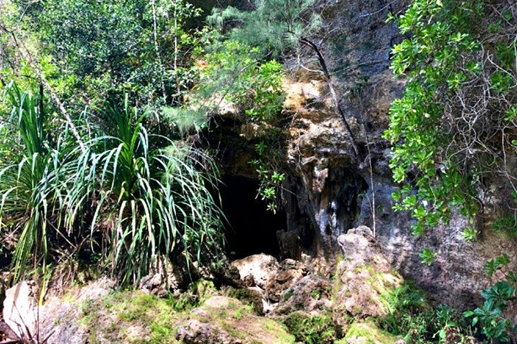 Havran köyündeki cinli mağaranın çevresi insan kemikler ile dolu doludur.