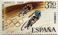 XIX JUEGOS OLÍMPICOS MÉXICO 1968. CICLISMO