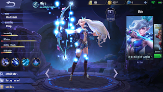 Build Item Terbaik Hero Miya Mobile Legends