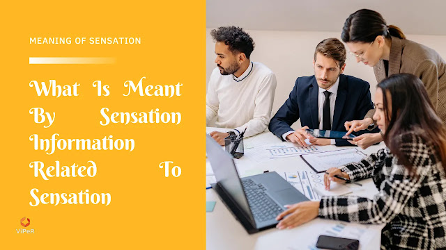 What Is Meant By Sensation | Information Related To Sensation