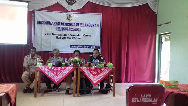 Musrenbangdes  untuk Kesejahteraan dan Kemajuan Desa