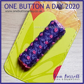One Button a Day 2020 by Gina Barrett - Day 79: Column