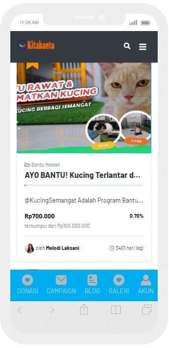 Kitabantu - Website Galang Dana Online