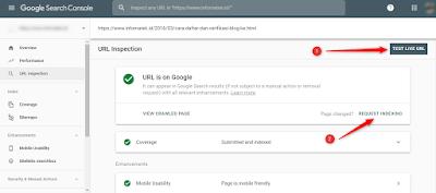 Cara Mudah Membuat Artikel Cepat di Indeks Mesin Pencari Google