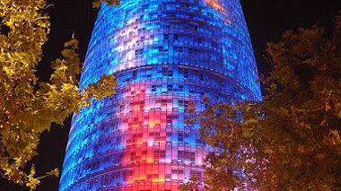 Los colores de la Torre Agbar