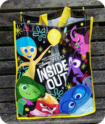 Inside Out Reusable Shopping Bag at The Disney Store