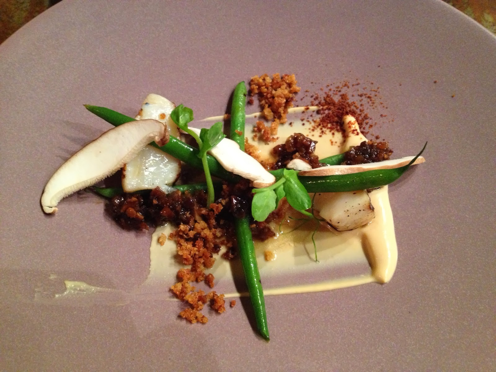 Cape Town - Grilled scallop