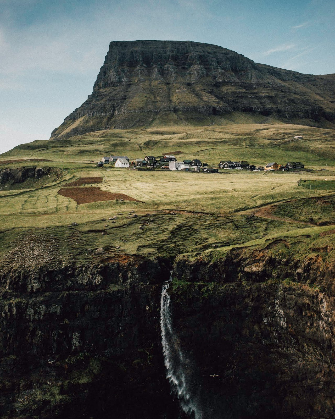 faroe islands itinerary mulafossur waterfall hike liquid grain liquidgrain