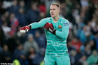 Barcelona 'continue contract talks with Marc-Andre ter Stegen'
