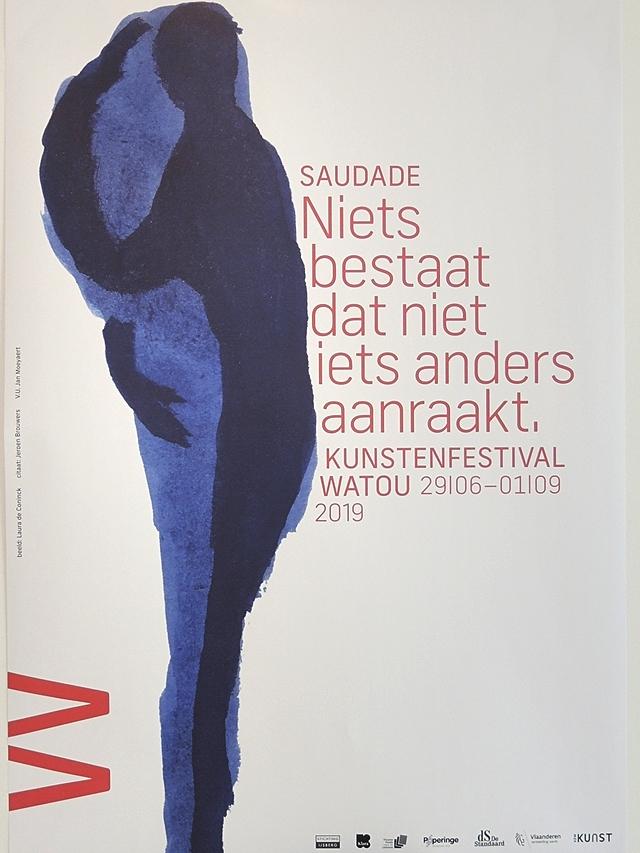 Watou 2019 - Saudade - 'niets bestaat dat niet iets anders aanraakt'