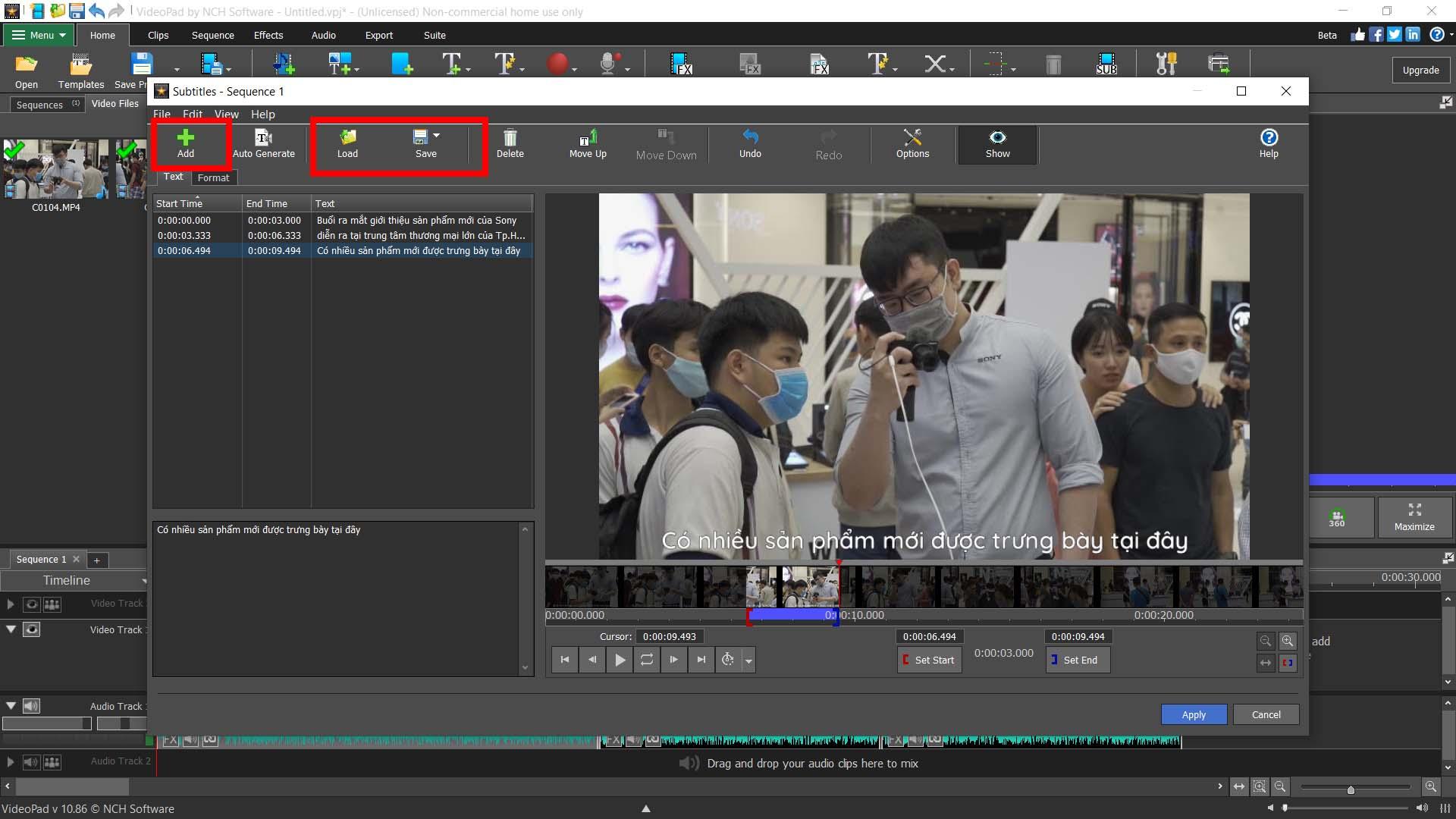Cách chèn subtitle phụ đề vào video