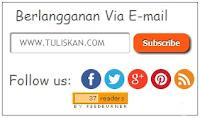 Membuat Email Subscribe, social media, Widget RSS Subscribe Feedburner dengan Social Media