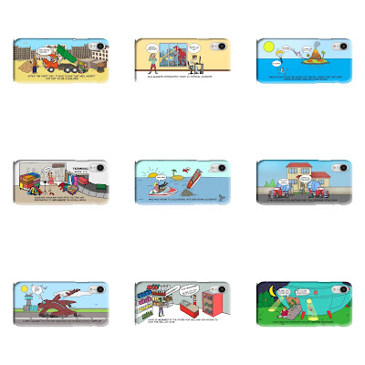 Phone Cases - 9 colourful comedy mobile phone cases