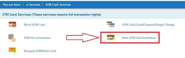 How to generate new atm card pin online