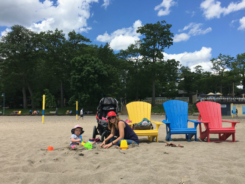A Day at Woodbine Beach, Toronto