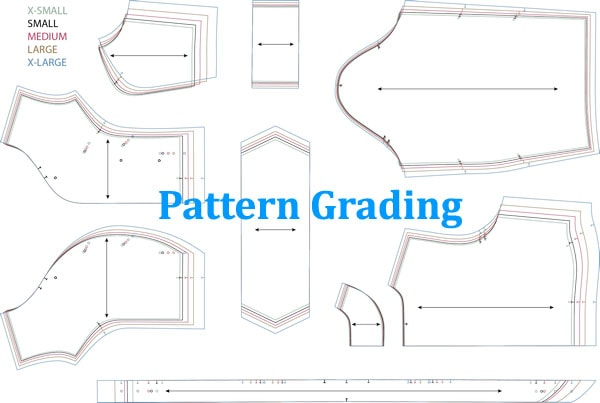 Pattern Grading Methods In Apparel Fashion2apparel