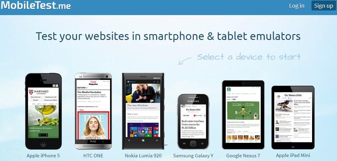 Cara Melihat Tampilan Blog Versi Mobile