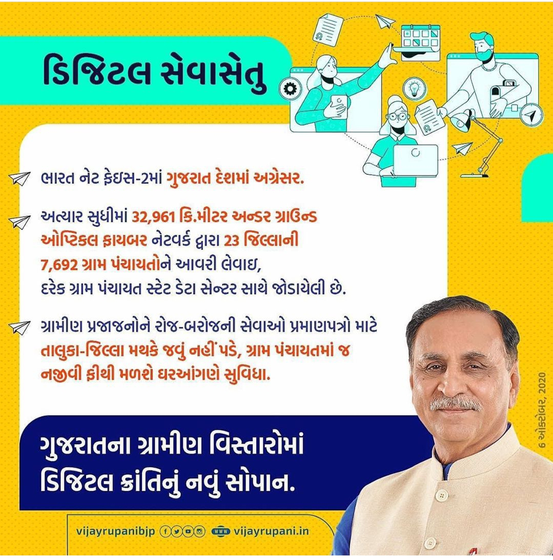 Digital Seva Setu Program For Gujarat Village