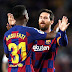 Messi, Fati Combine To Lift Barcelona To Win Over Levante