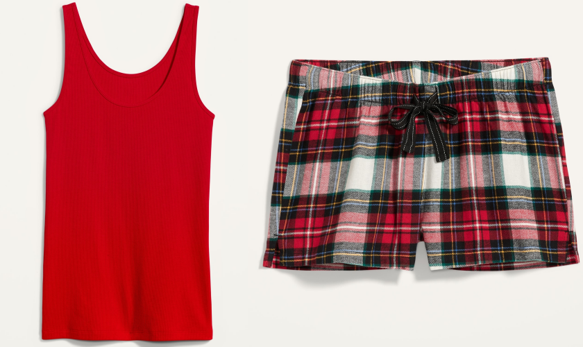 bblogger, bbloggers, lifestyle blog, lifestyle blogger, old navy, old navy canada, friends and family, fall 2020, stevie pants, faux leather, plaid swing dress, masks, triple layer mask, tank top, plaid boxers, tall length, shopping haul, christmas haul
